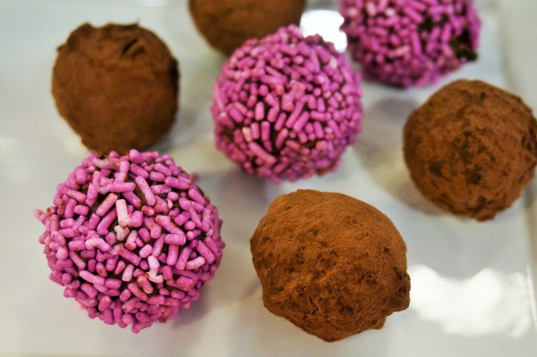 Making Chocolate Truffles with Malka