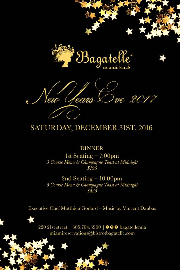 bagatelle - miami new year's eve