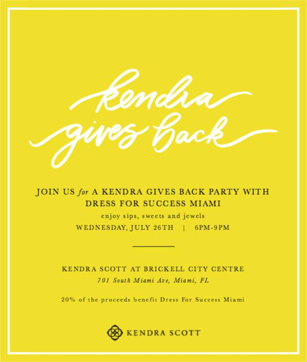 Kendra Gives Back with Dress for Success Miami @ Kendra Scott | Miami | Florida | United States