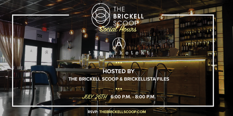 The Brickell Scoop Social Hours at Arketekt @ Arketekt | Miami | Florida | United States