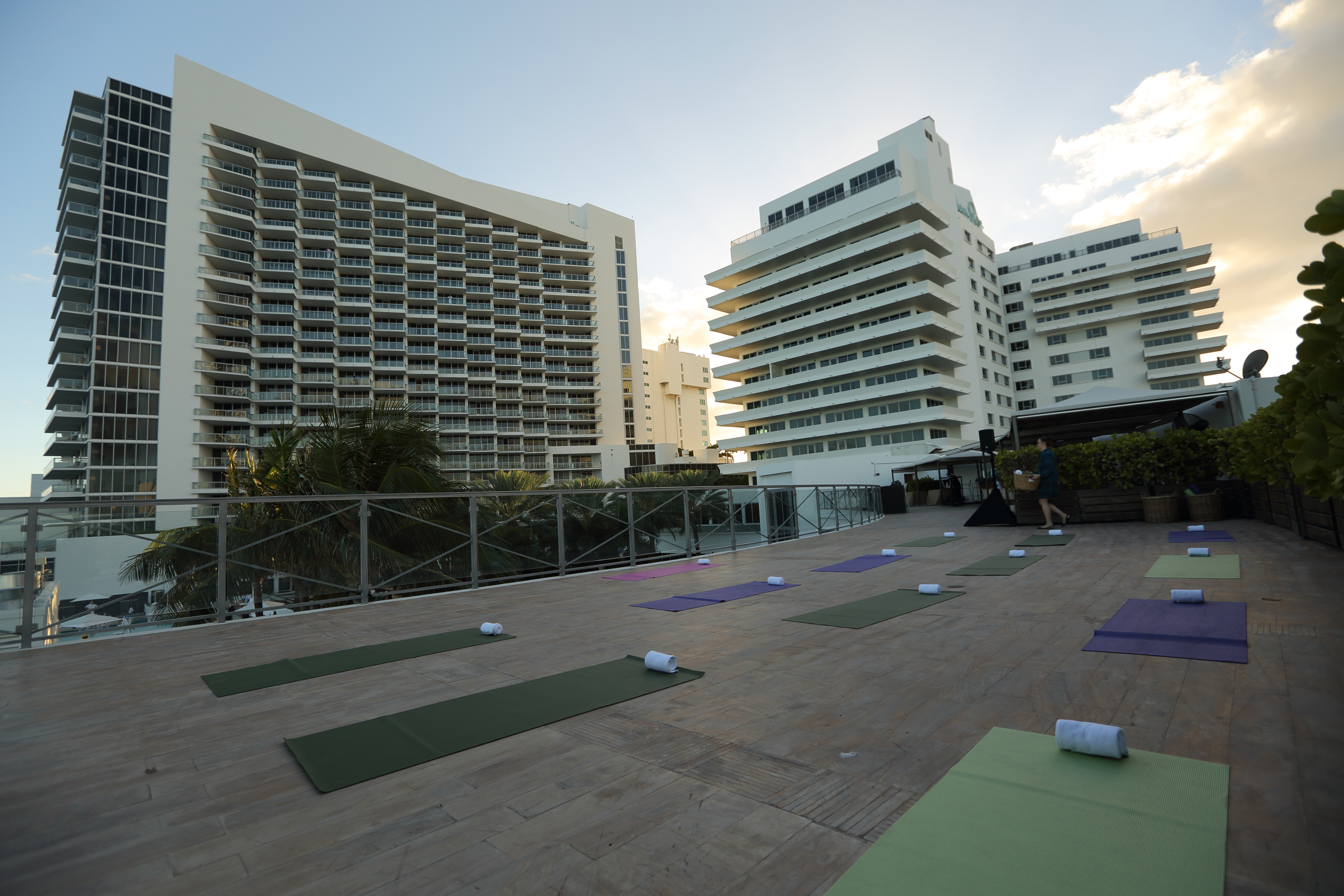 Full Moon Vinyasa Flow Yoga @ NOBU Eden Roc | Miami Beach | Florida | United States