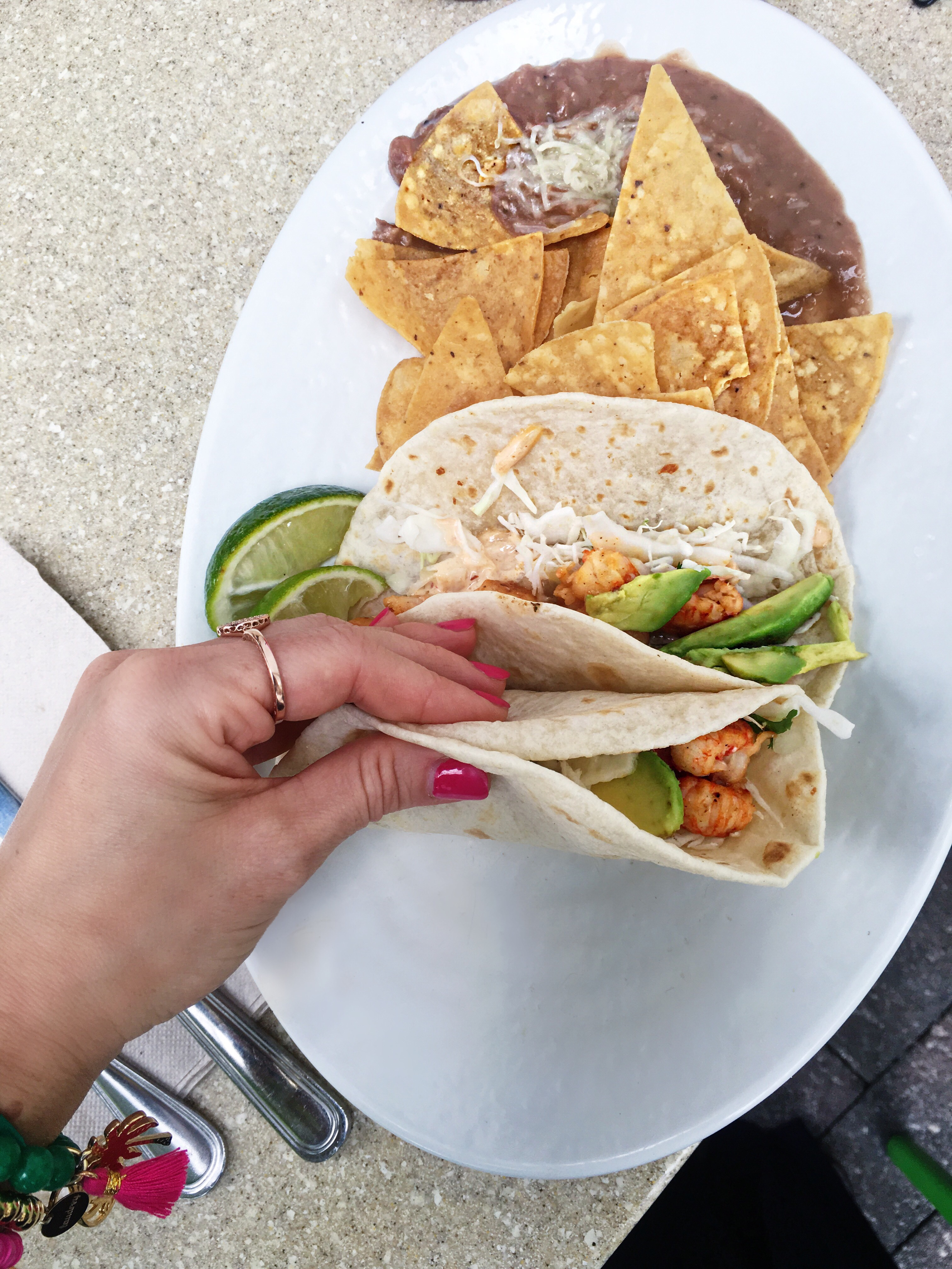 Fresh Lobster Taco at Rubio's Coastal Grill in Midtown Miami