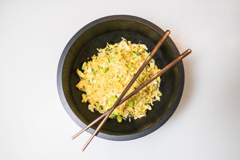 Crab Fried Rice Recipe with Chef Xavier Torres of Drunken Dragon Restaurant in Miami