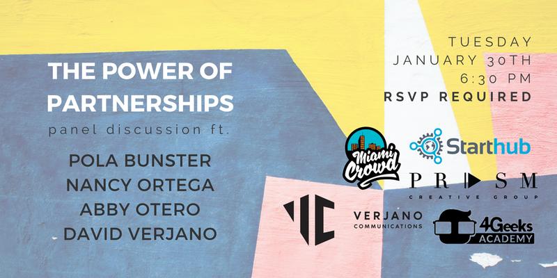The Power of Partnerships @ Starthub   Miami   Florida   United States