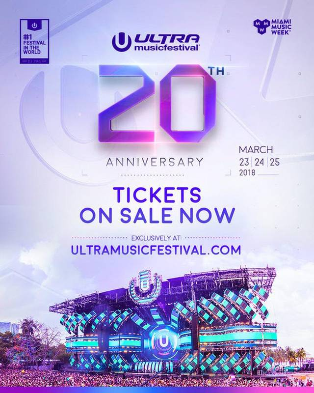 Ultra Music Festival 20th Anniversary @ Bayfront Park - Downtown Miami, FL | Miami | Florida | United States
