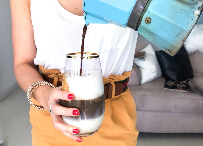 Iced Crack Cafecito: A Cafe Con Leche Recipe